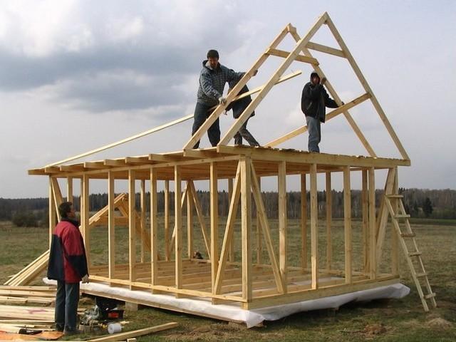 Строительство каркасных сооружений своими руками